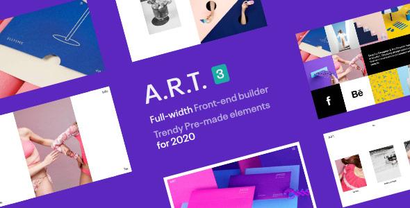 Art Simple Clean WordPress Theme for Creatives