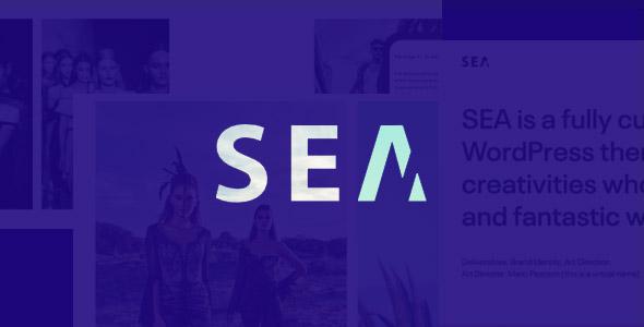 SEA Creative Multi-Purpose WordPress Theme